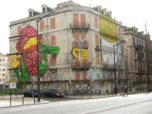 Tag immeuble Lisbonne