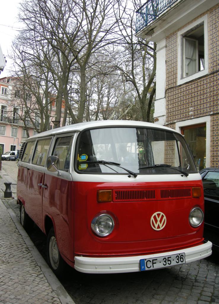Van à Lisbonne