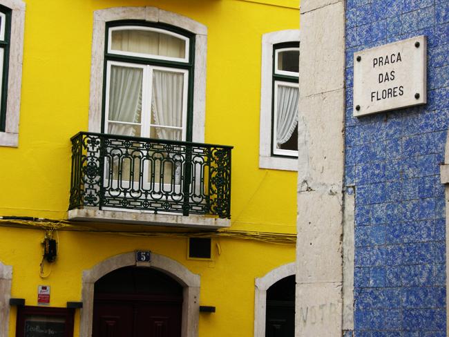 Un week end à Lisbonne, les jolies rues colorées