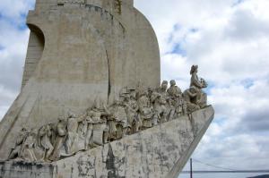 Le monument des explorateurs Lisbonne