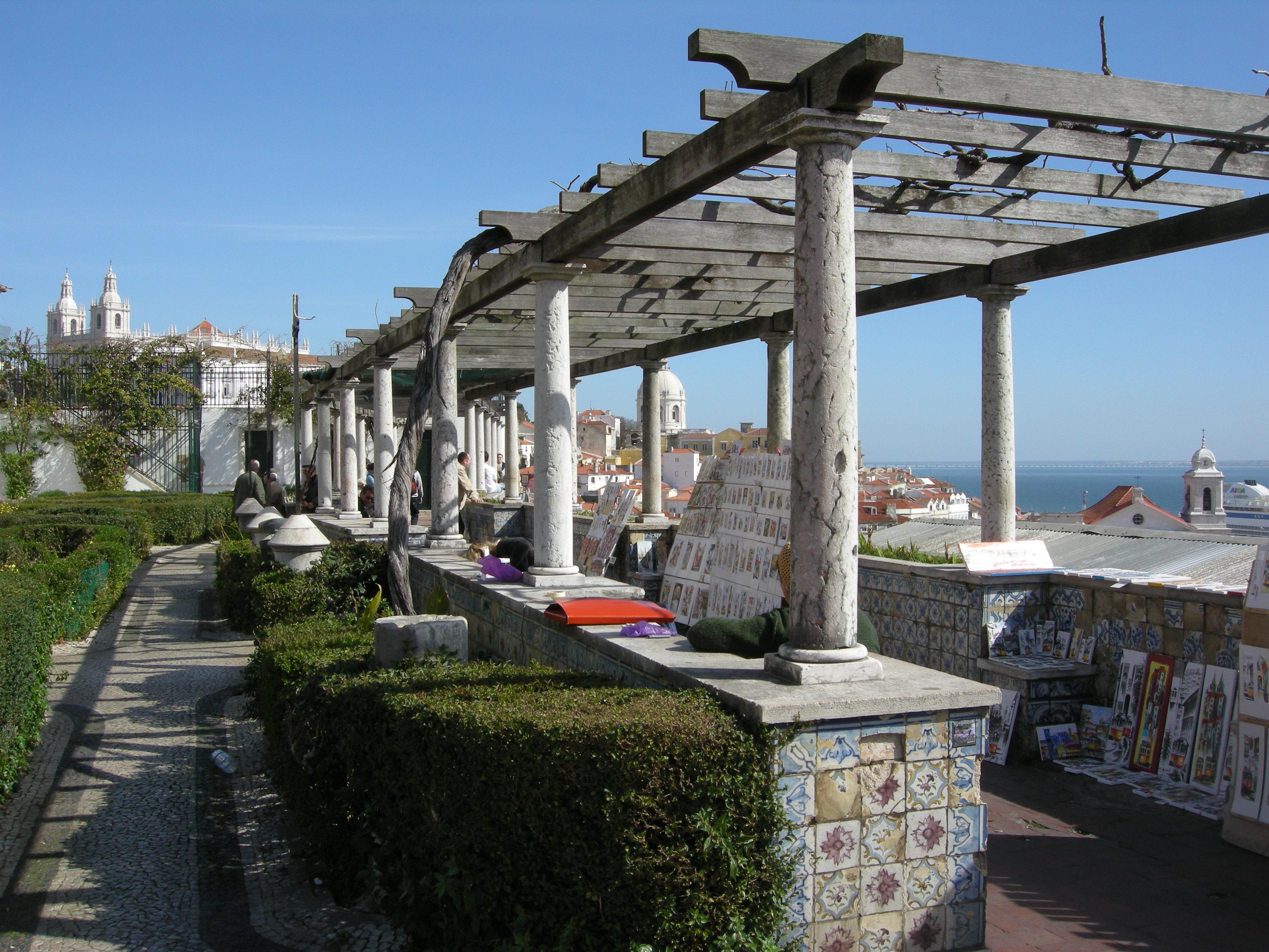 Lisbonne point de vue