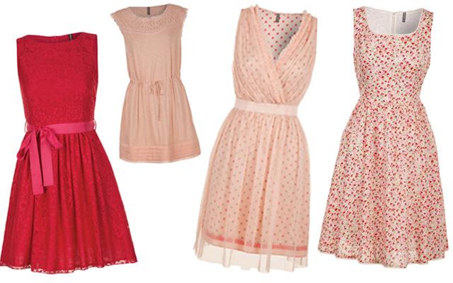 Les jolies robes rétro de Naf Naf