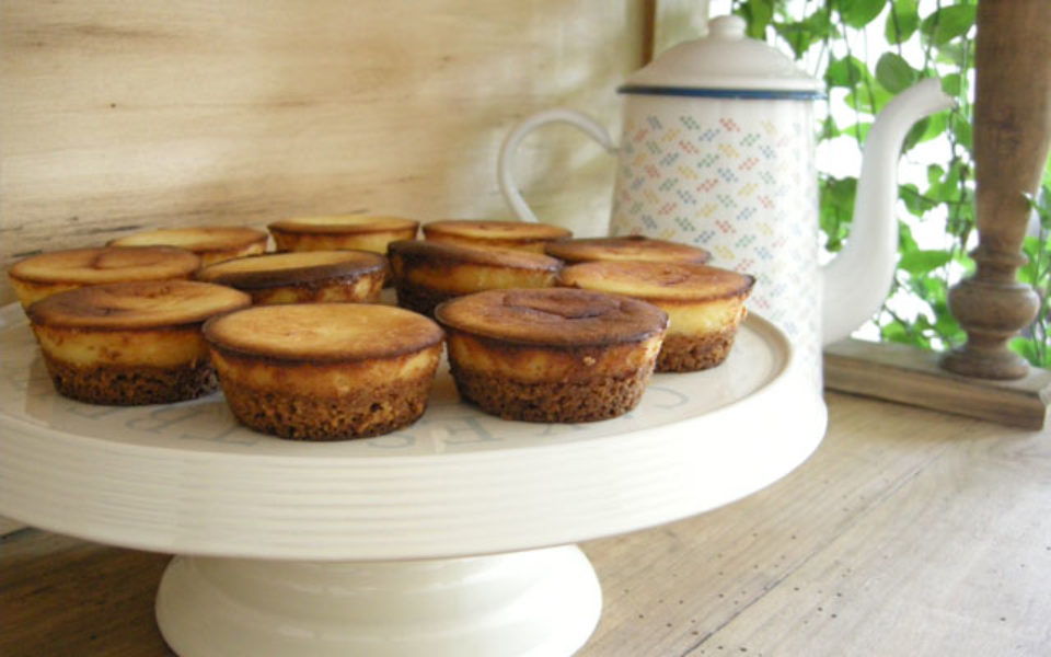 Recette Cheesecakes individuels