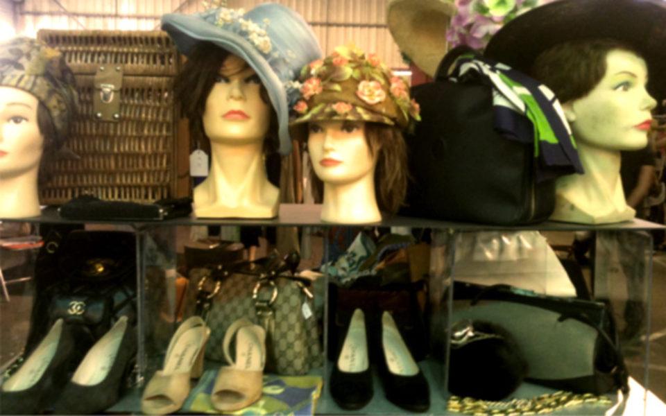 Marché de la mode vintage à Lyon