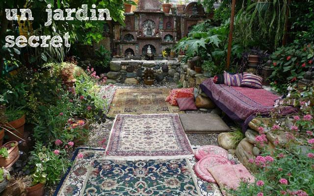 Un jardin secret - Bucket list