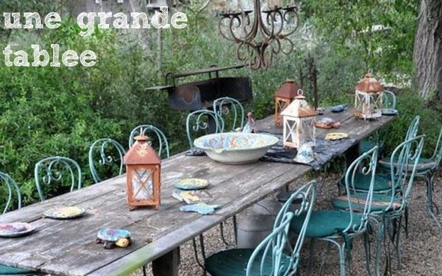 Deco jardin fait maison decorating ideas - Housse de coussin style campagne ...