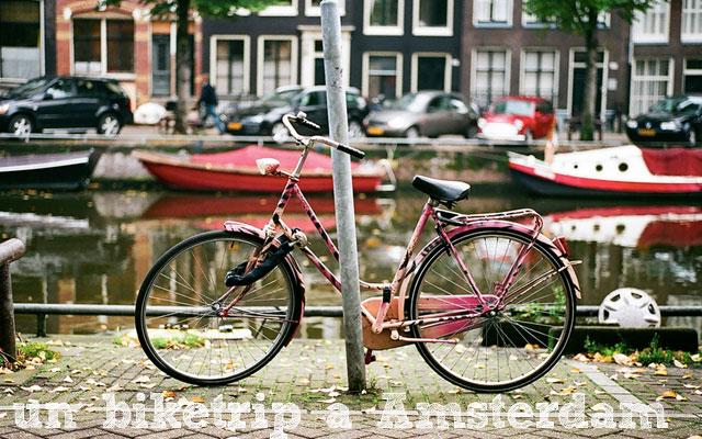 Un biketrip à Amsterdam