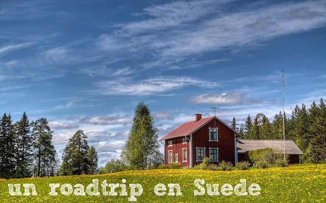Un roadtrip en Suède