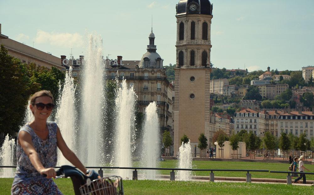 Balade vélo Lyon