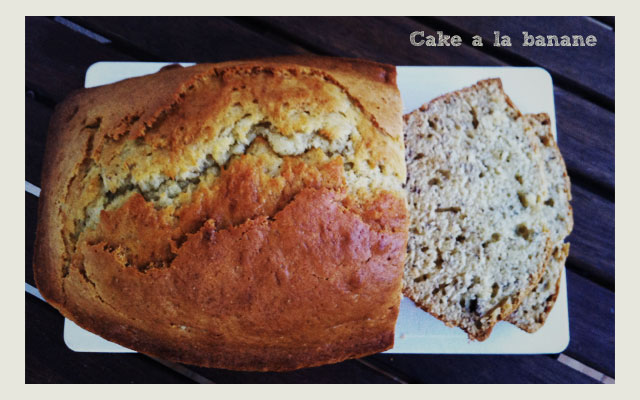 recette du cake la banane banana bread. Black Bedroom Furniture Sets. Home Design Ideas