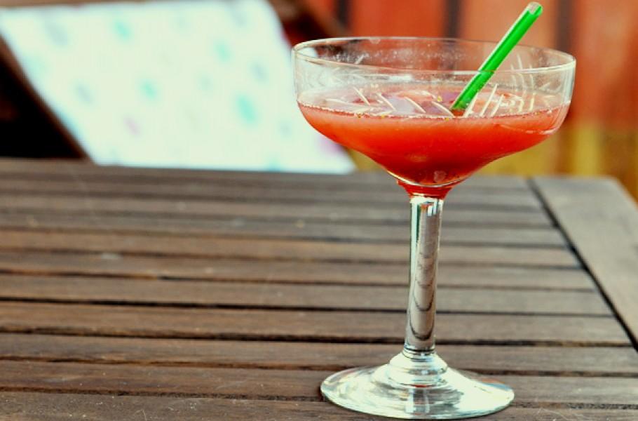Cocktail Daiquiri aux fraises