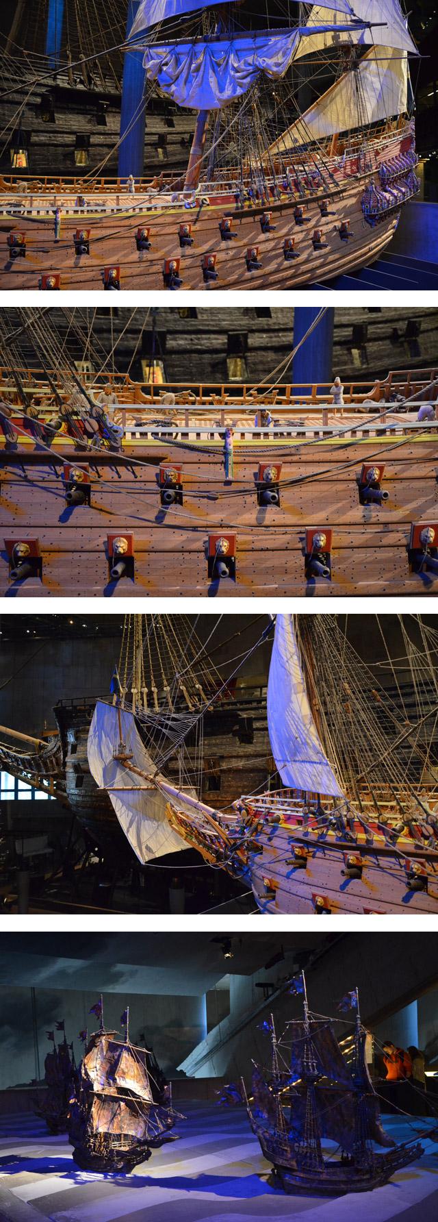 Miniature du Vasa - Musée Vasa