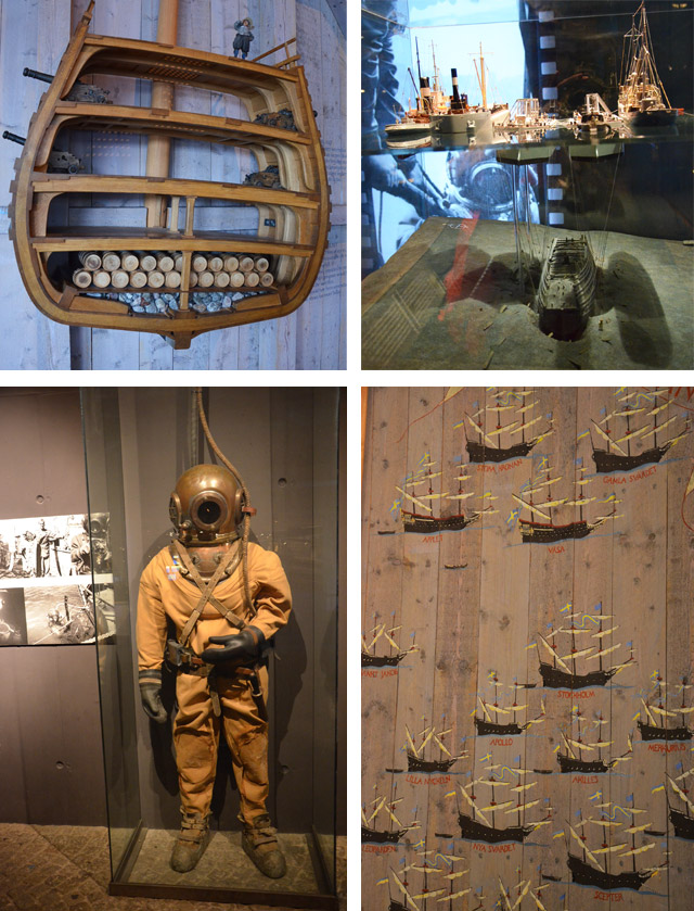 Renflouage Vasa - Musée Vasa