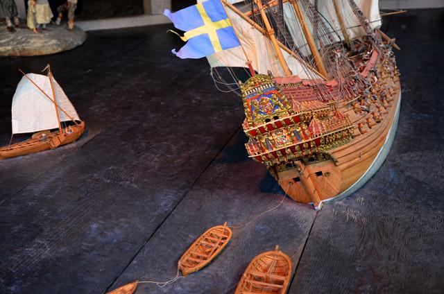 Le Vasa qui coule