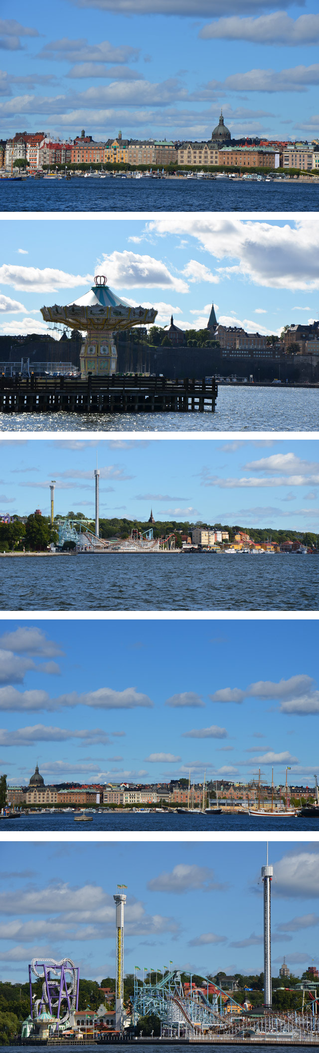 Bateau jusqu'au musée Vasa - Östermalm, Parc Gröna Lund