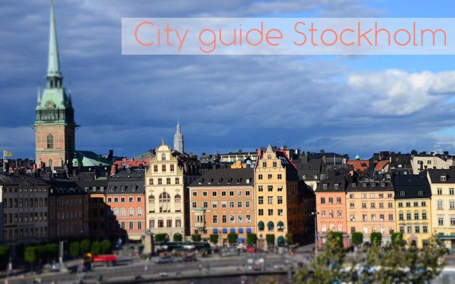 City guide Stockholm : conseils et bonnes adresses