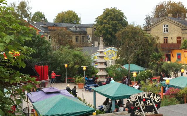 Christiania, une ville autonome dans Copenhague