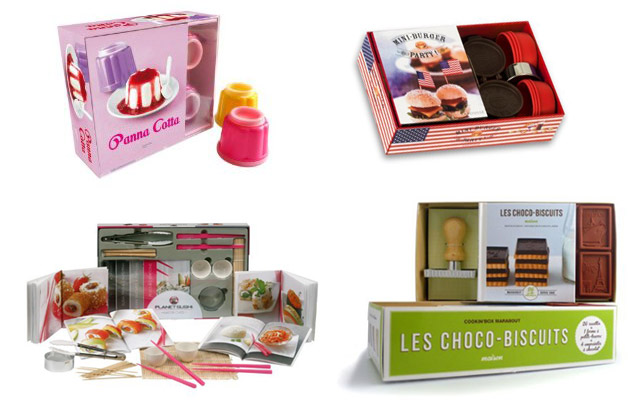 Idées cadeaux : coffrets cuisine & pâtisserie