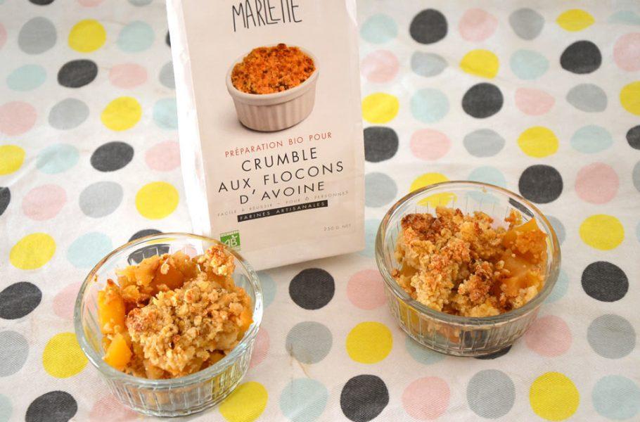Marlette : préparation bio crumble
