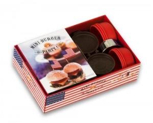 Coffret mini-burgers - Idée cadeau coffret cuisine