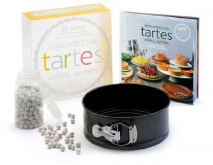 Coffret tartes - Idée cadeau coffret cuisine