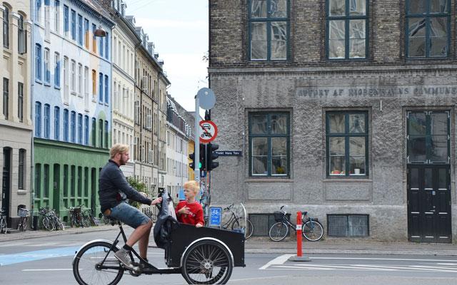 A Copenhague le vélo est roi !