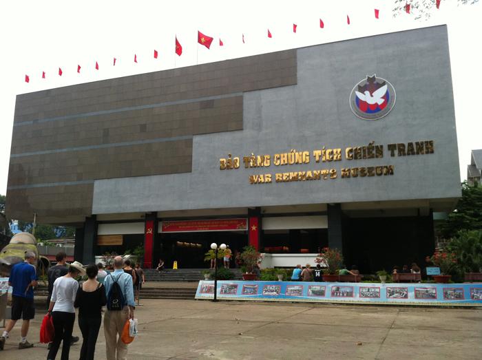 Musée des souvenirs de guerre à Saïgon