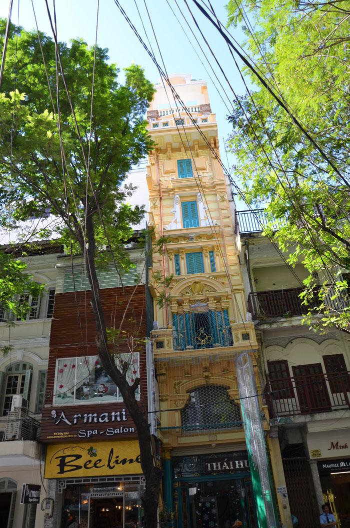 Hô-Chi-Minh-Ville, l'ancienne Saïgon - Maison tube Vietnam