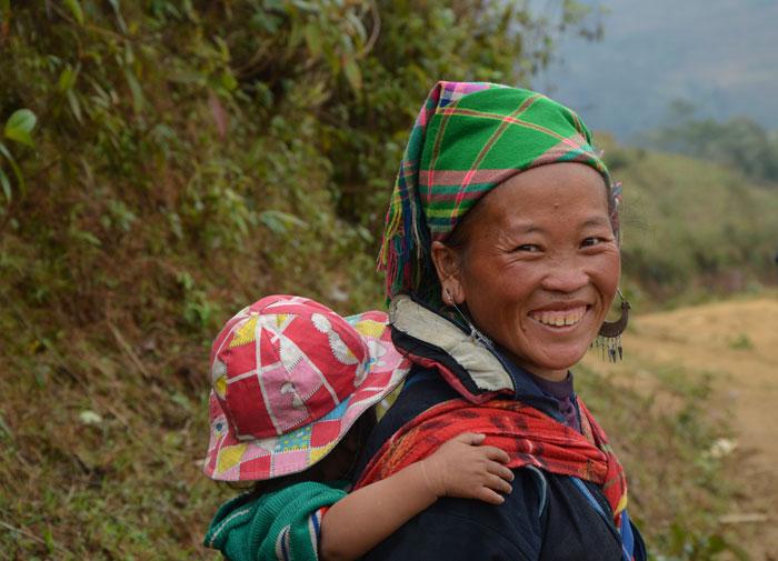 Femme Hmong à Sapa - Road trip au Vietnam