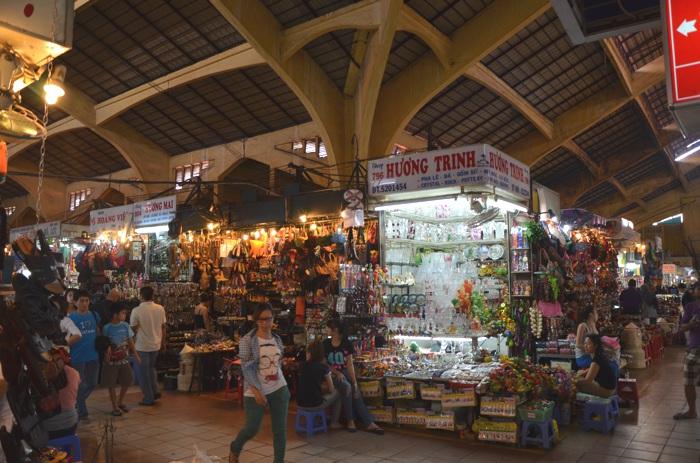 Hô-Chi-Minh-Ville, l'ancienne Saïgon - Marché Ben Thanh