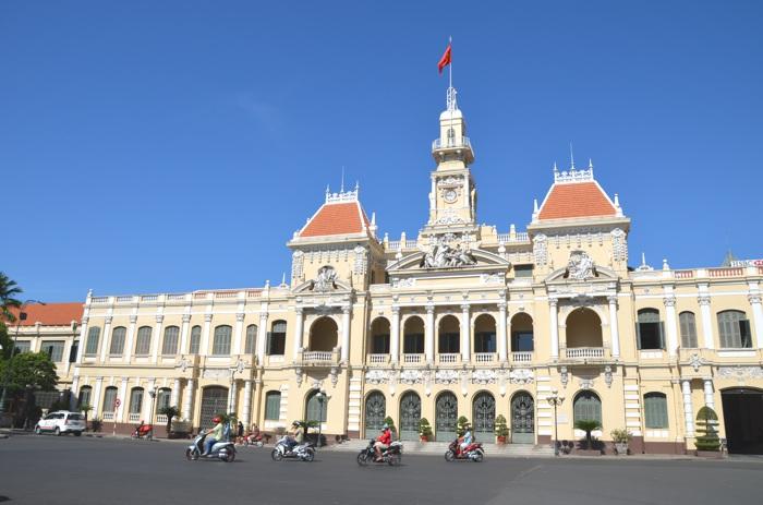 Hô-Chi-Minh-Ville, l'ancienne Saïgon - Hôtel de ville