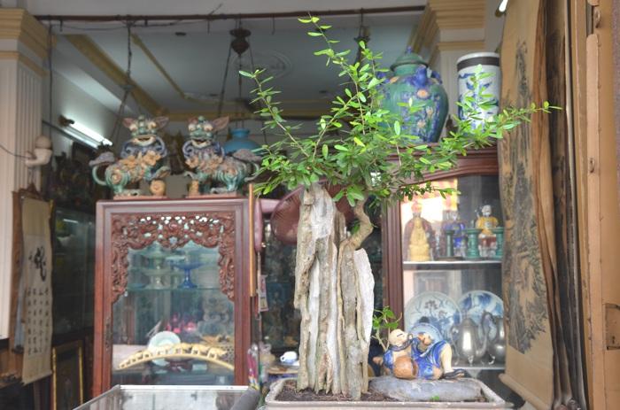 Hô-Chi-Minh-Ville, l'ancienne Saïgon - La rue des antiquaires