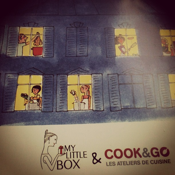 Bon cadeau My Little Box Cook & Go