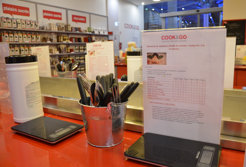 Atelier de cuisine chez Cook & Go