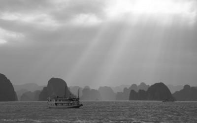 Croisière dans la Baie d'Along au Vietnam