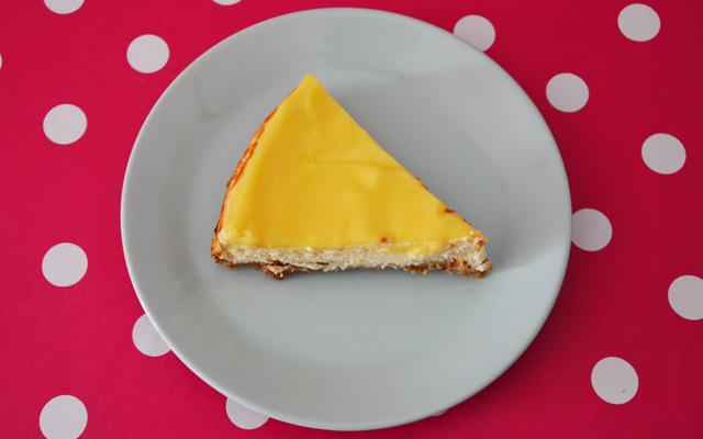 Recette du cheesecake au citron et au lemon curd
