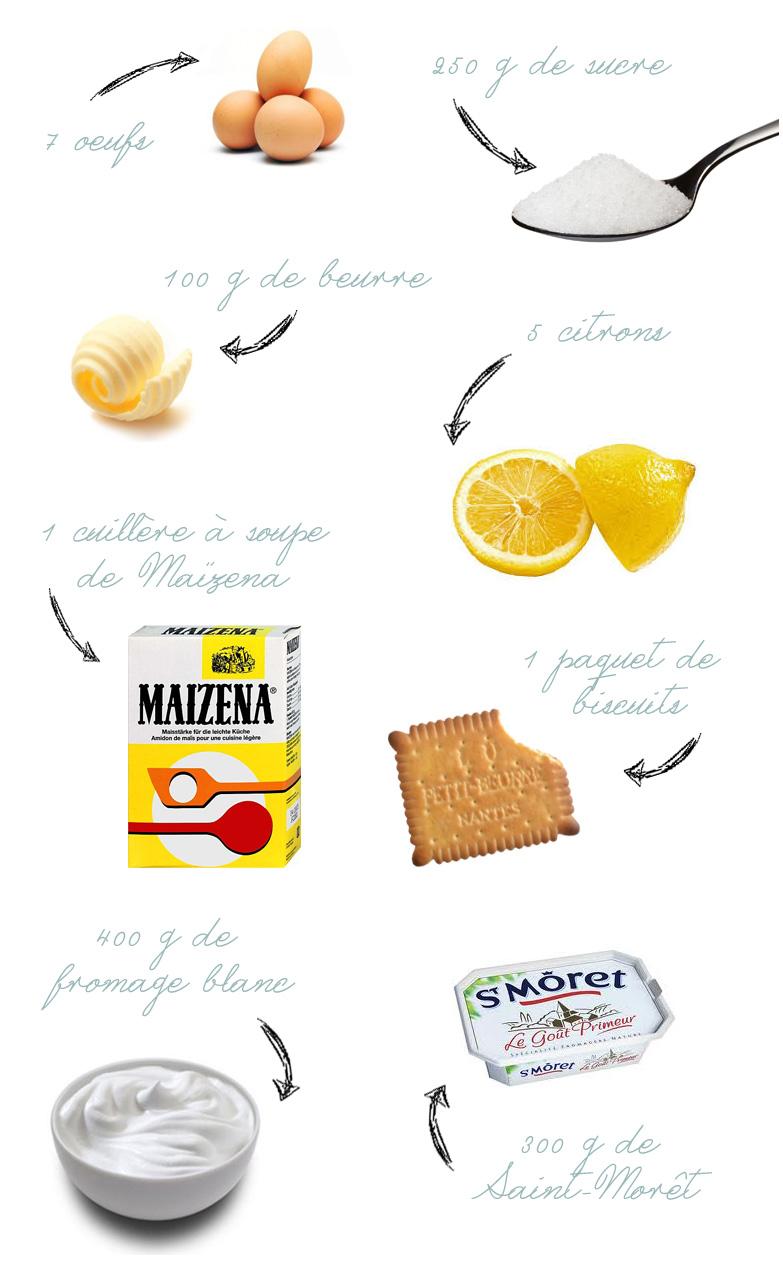 Une recette pour fêter le printemps : Cheesecake au citron et au lemon curd