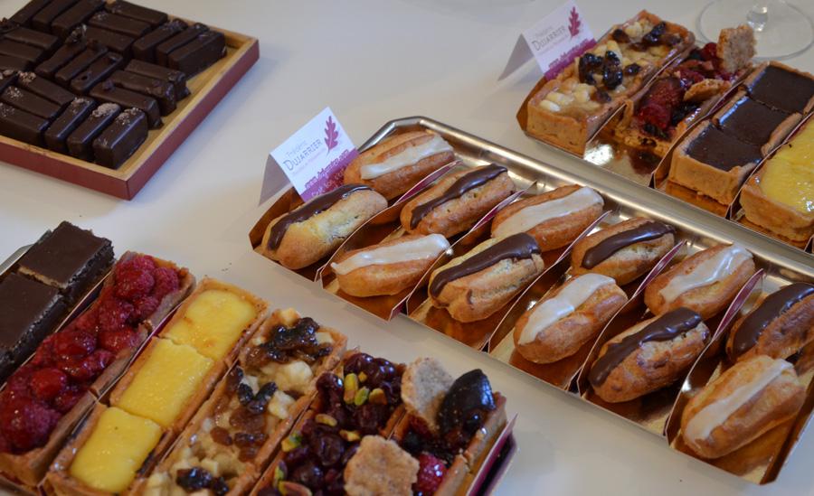 Apéro gourmand du pâtissier Frédéric Dujarrier