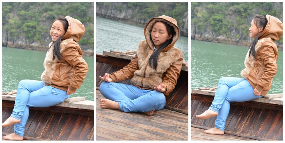 Pen, notre guide vietnamienne