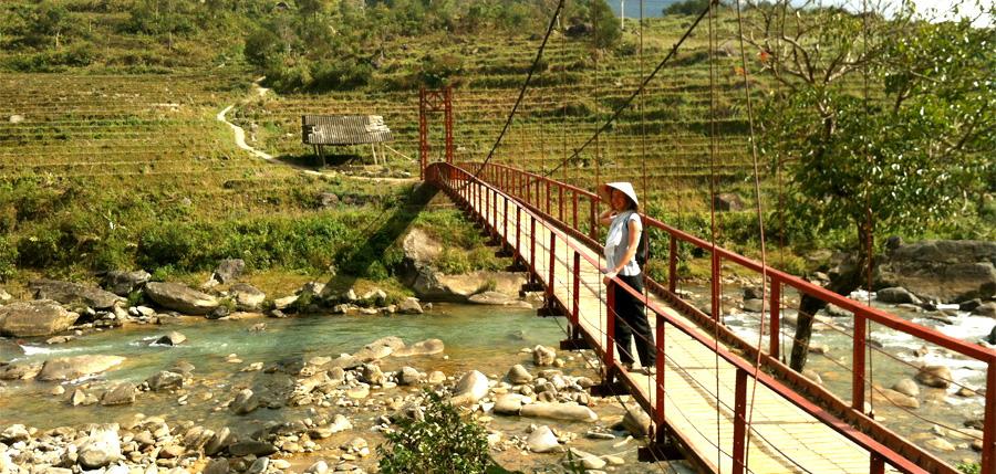 Voyage au Vietnam : trek dans les montagnes et les rizières aux alentours de Sapa