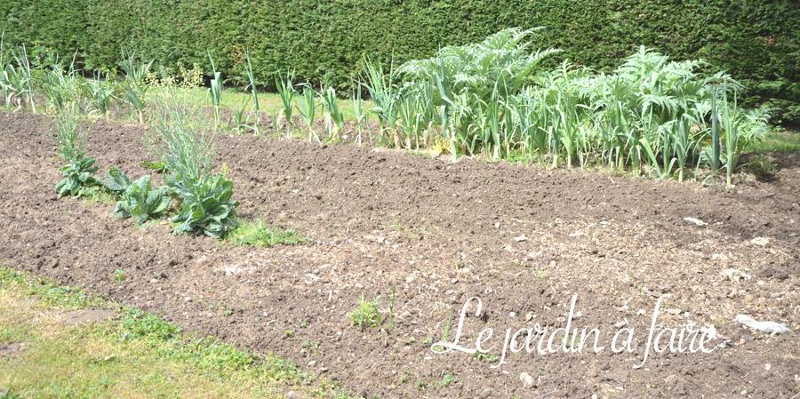 Le potager à semer