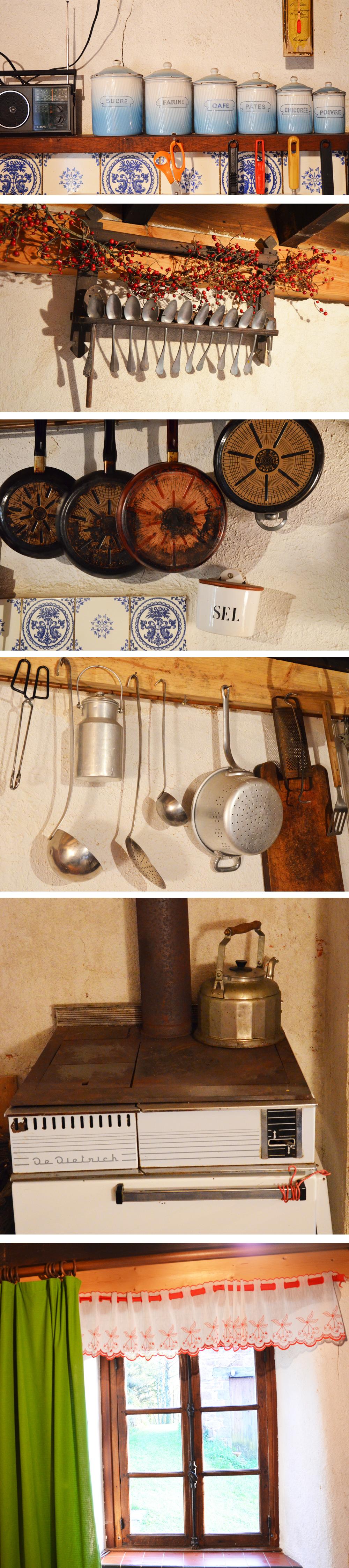Decoration cuisine de campagne avec des - Deco cuisine retro campagne ...