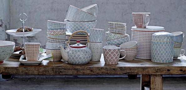 Bloomingville : vaisselle rétro scandinave
