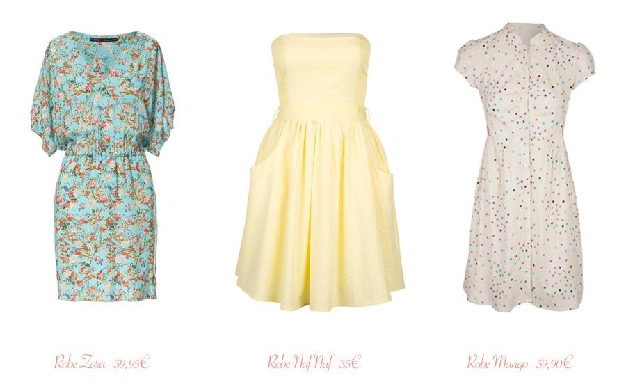 Les jolies robes d'été