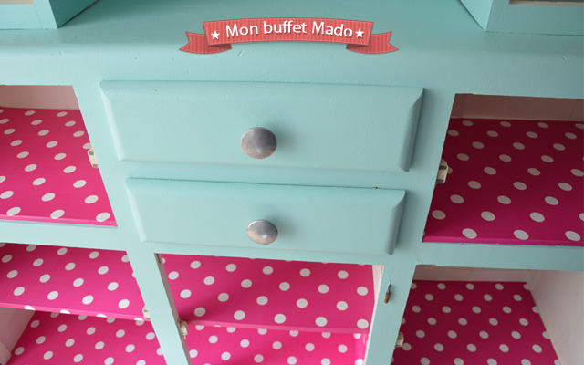 relooking de mon buffet mado un buffet vintage des ann es 50 blog. Black Bedroom Furniture Sets. Home Design Ideas