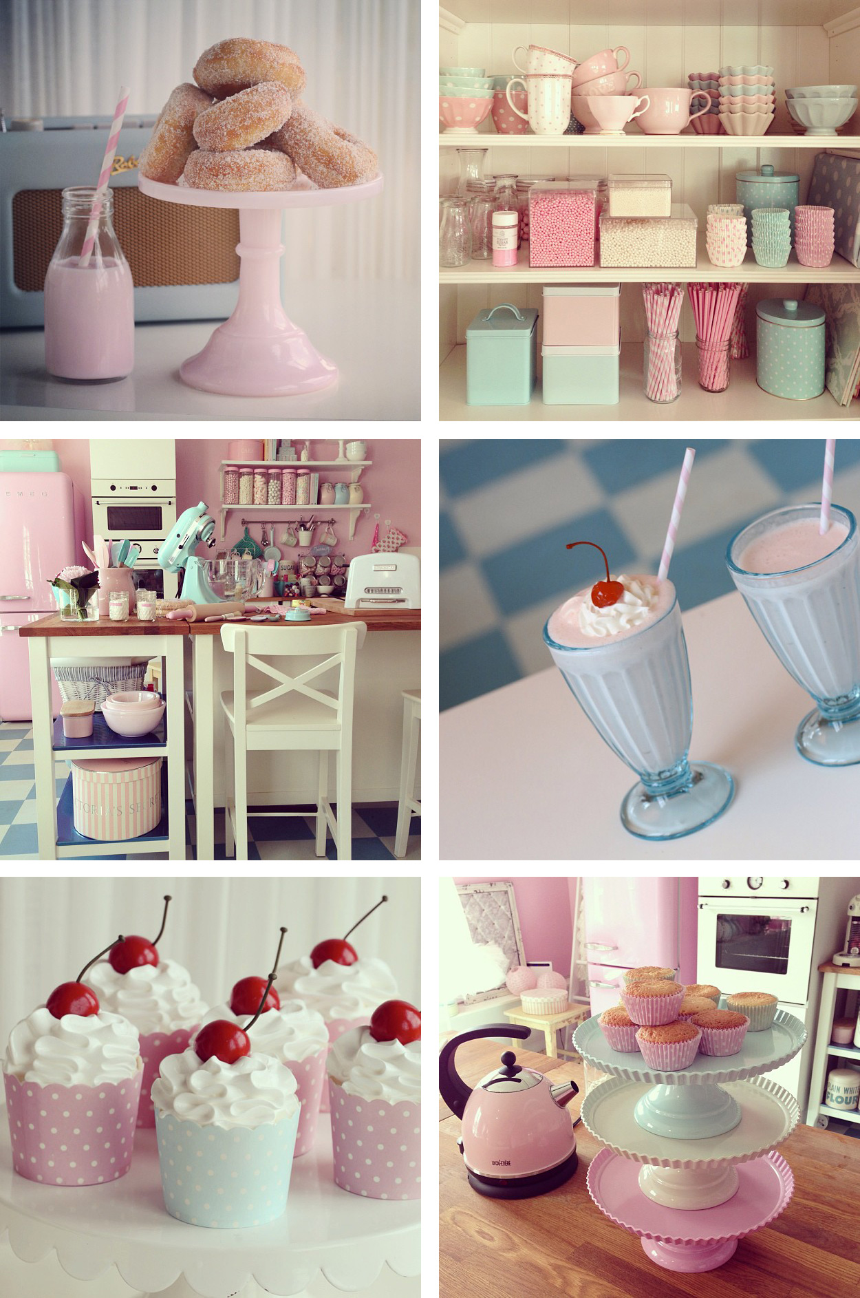 Deco cuisine rose pale: photo decoration rose avec pinterest ...