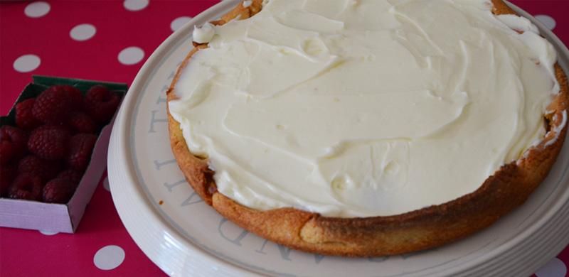 Recette de la tarte aux framboises