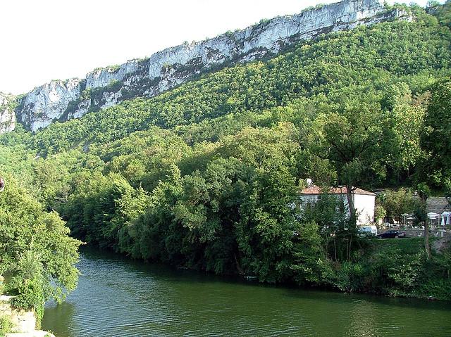 Rivière Aveyron - Flickr Josep M. Martí