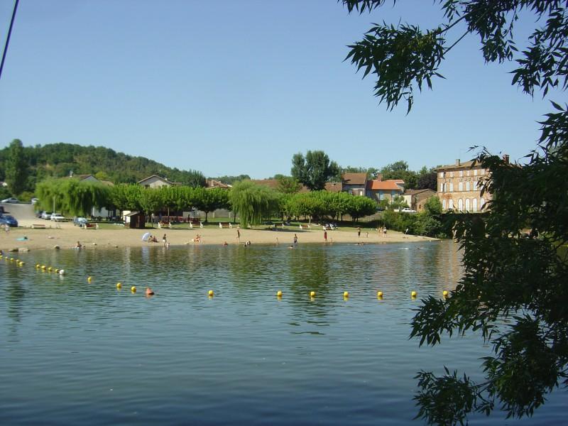 Où se baigner près de Toulouse : la plage d'Ardus