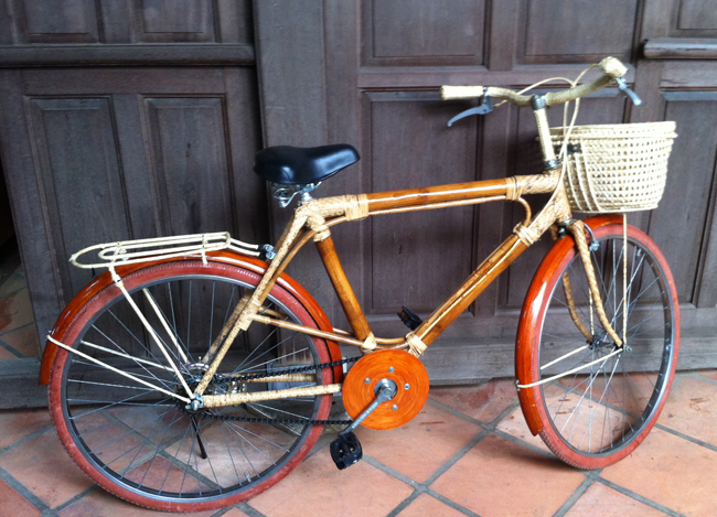 Vélo en bambou ! Vietnam style
